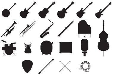 Instruments outlines set