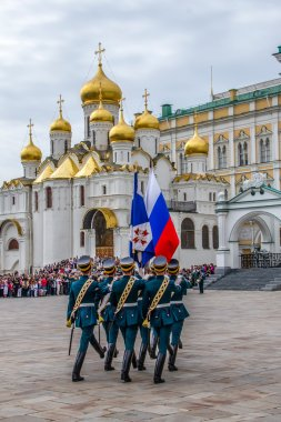 Soldiers of Kremlin regiment