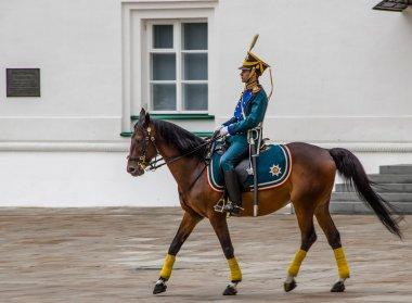 Kremlin regiment on horseback