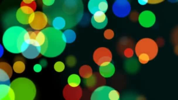 astratti cerchi multicolore