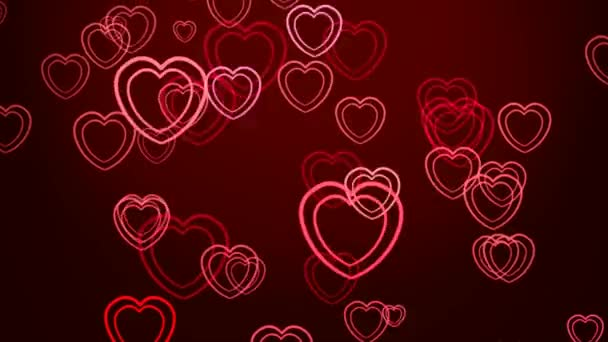 Abstract background from the hearts