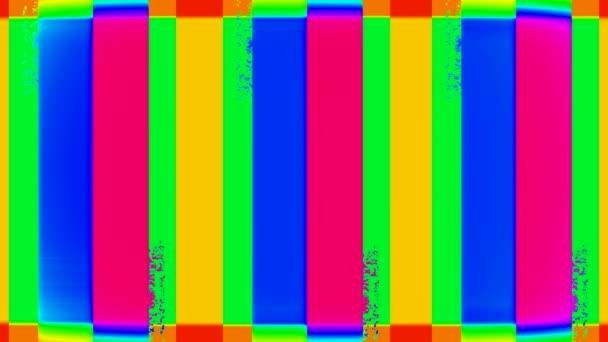 abstraktní barevné obdélníky