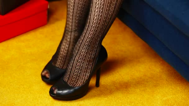 Womans leg in high-heeled shoes episode 3