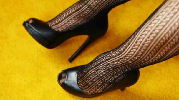 Womans leg in high-heeled shoes episode 4