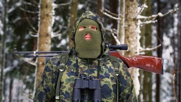 vadász optikai puska téli epizód 1