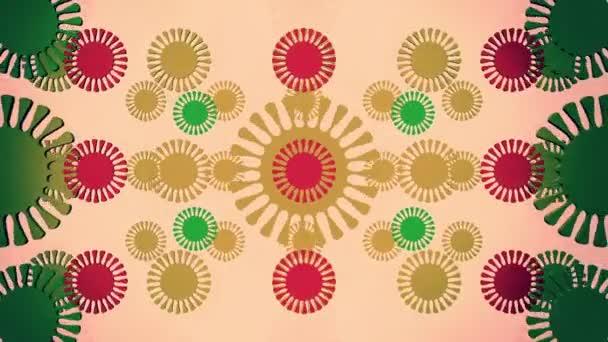 abstraktní květy vícebarevné Epizoda 3