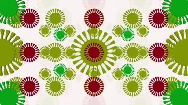 abstraktní květy vícebarevné epizoda 4
