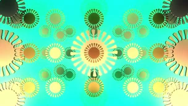 abstraktní květy vícebarevné epizoda 5