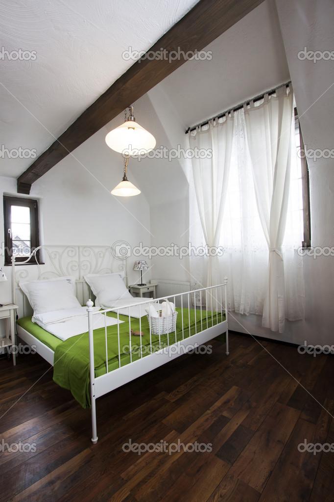 rustieke slaapkamer — Stockfoto © melis82 #28617593