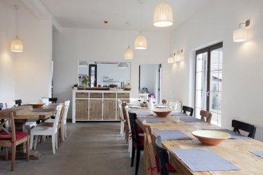 Rustic kitchen interior