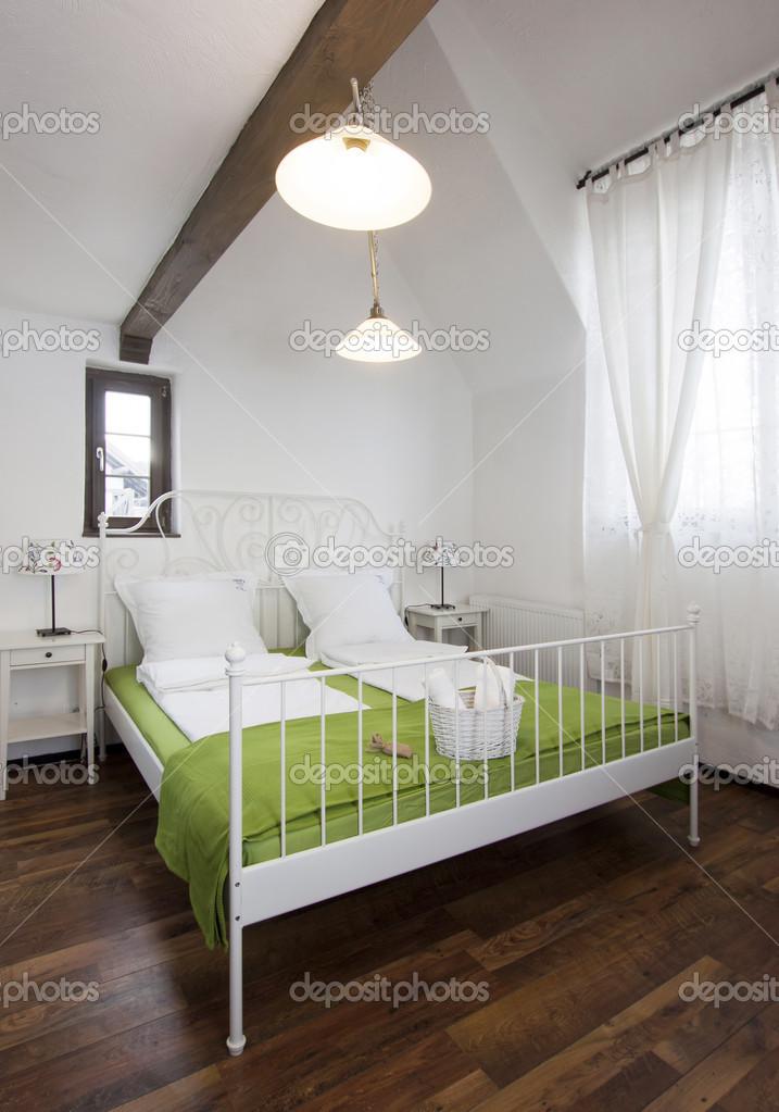 rustieke slaapkamer — Stockfoto © melis82 #28746909