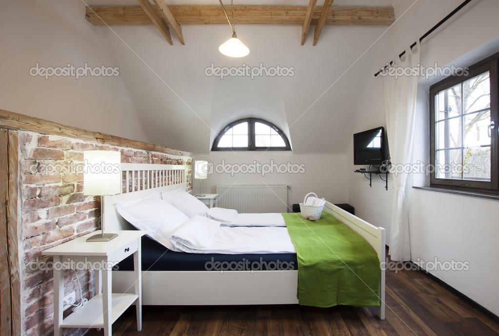 rustieke slaapkamer — Stockfoto © melis82 #28746959