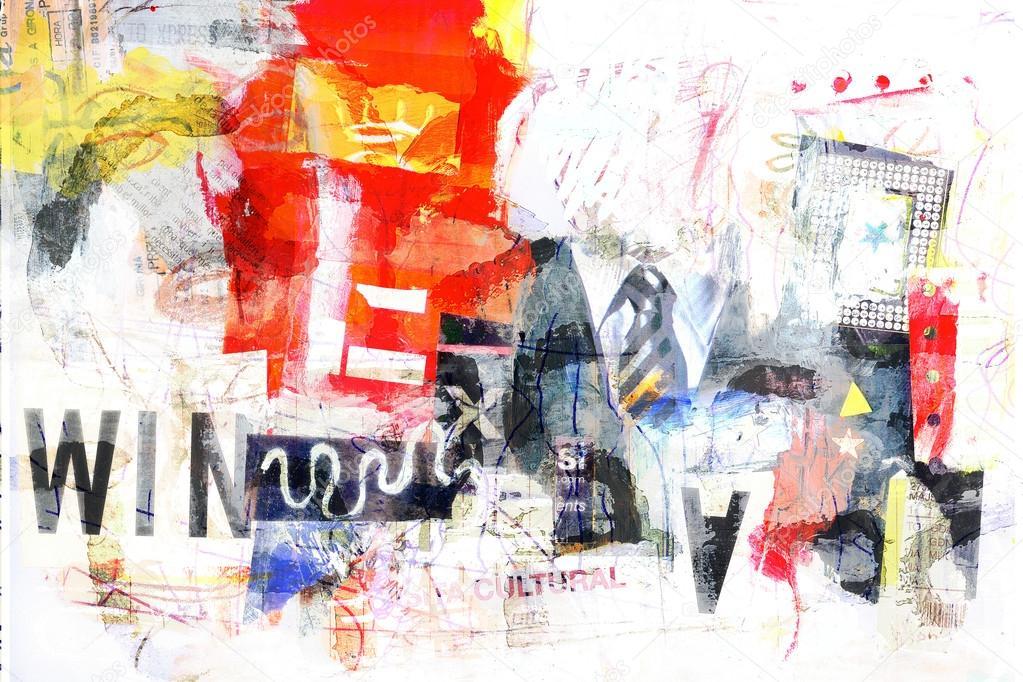 Digital collage art
