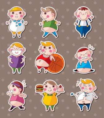 fat boy stickers