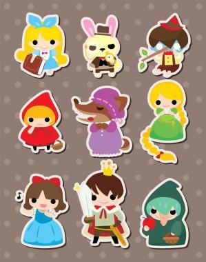 cartoon story stickers