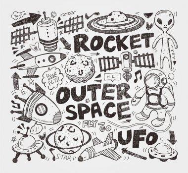 doodle space element