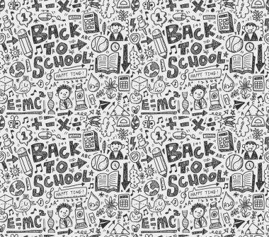 Doodle school background