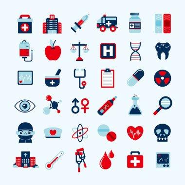 Medical icons set, .