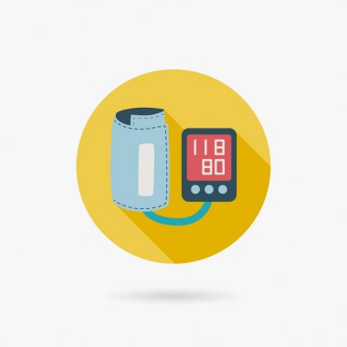 Sphygmomanometer blood pressure icon