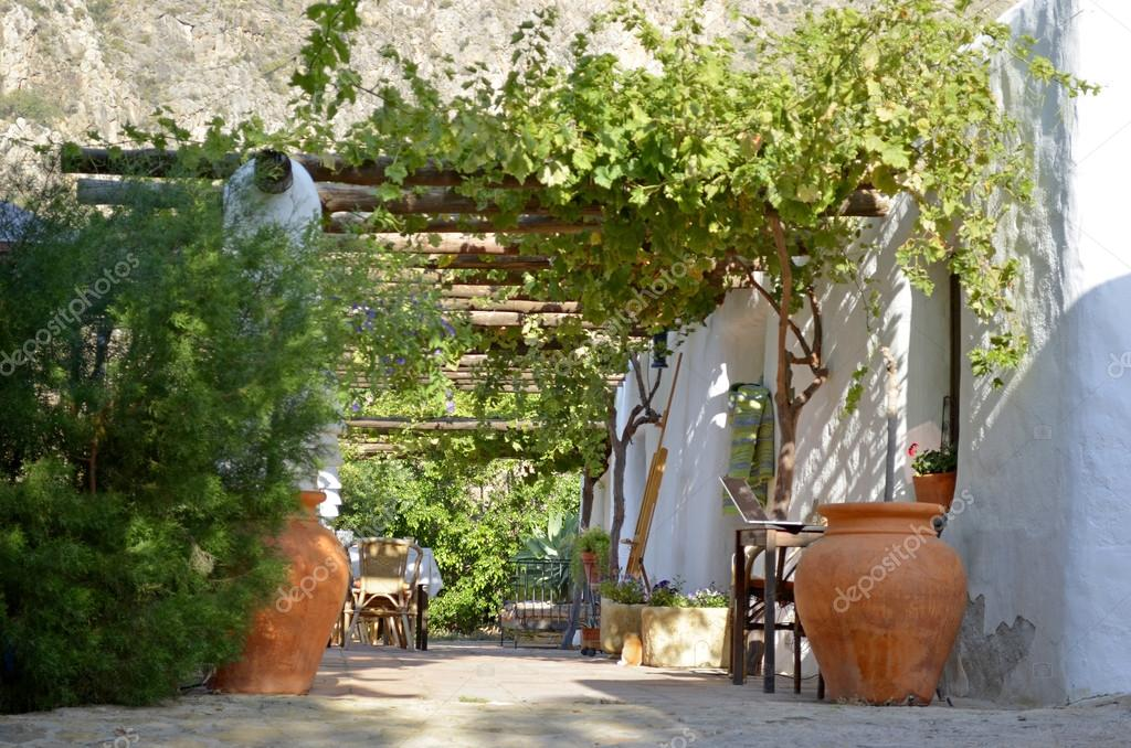 Traditional Patio Andaluz Stock Photo C Indalo 28131379