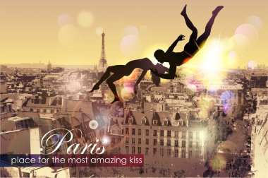 Paris-place for the most amazing Kiss.