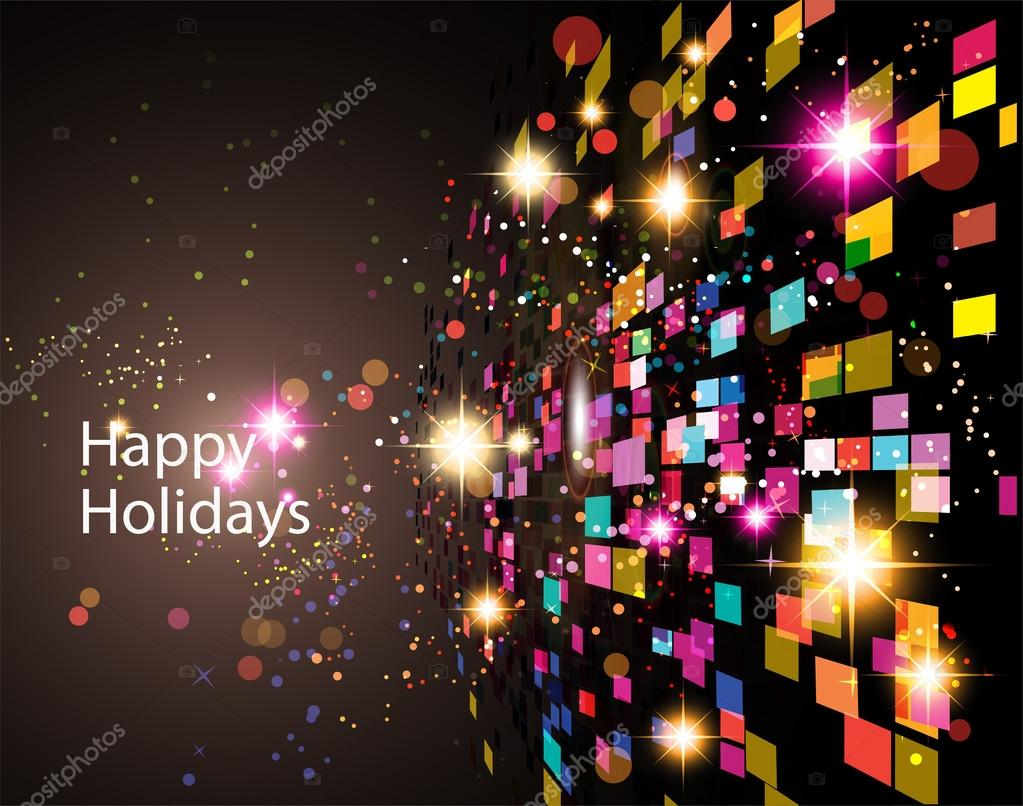 Abstract Holidays Background