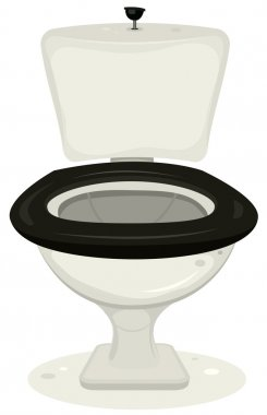 Cartoon toilets