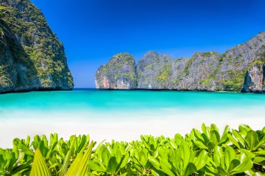 Lagoon beach in thailand