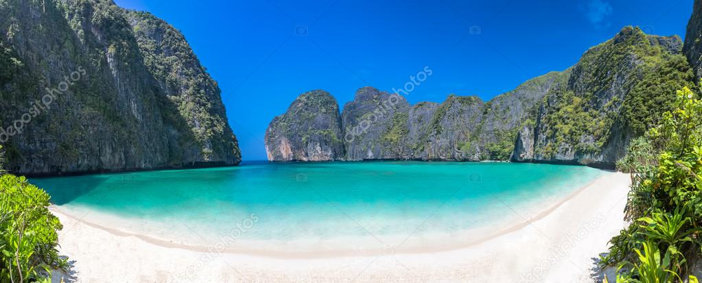 Lagoon beach in thailand