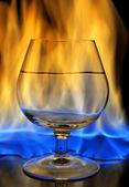Fotografie brennende Getränk