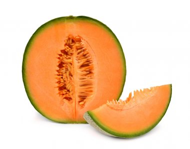 orange cantaloupe melon