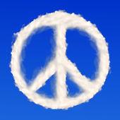 Fotografia simbolo di pace