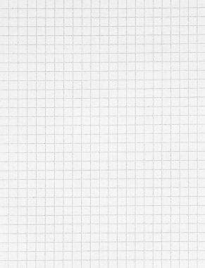 White squared paper