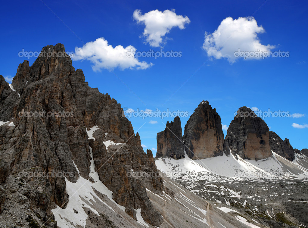 Tre cime di Lavaredo — Φωτογραφία Αρχείου © vencav #31575559