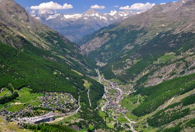 Saas Fee and Saas Grund, Switzerland