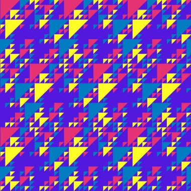 Colorful Triangles Pattern