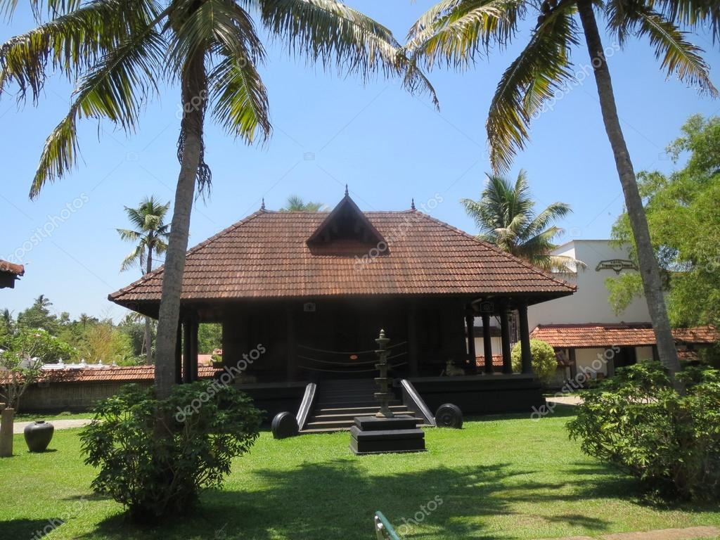 Traditional Nalukettu House In Kerala U2014 Stock Photo