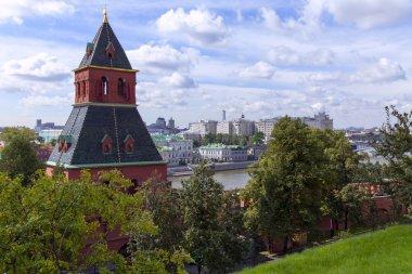 Moskova. Moskova kremlin su kulesi