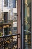 Nice, Franciaország. építészeti részletek