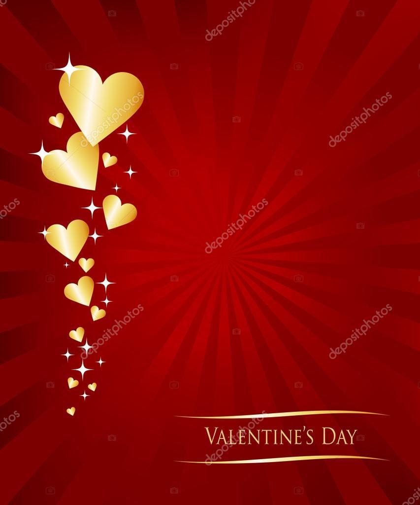 Valentine Greetings Card Stock Vector Annafrajtova 14769105