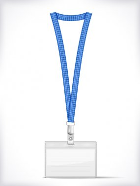 Lanyard with Tag Badge Holder