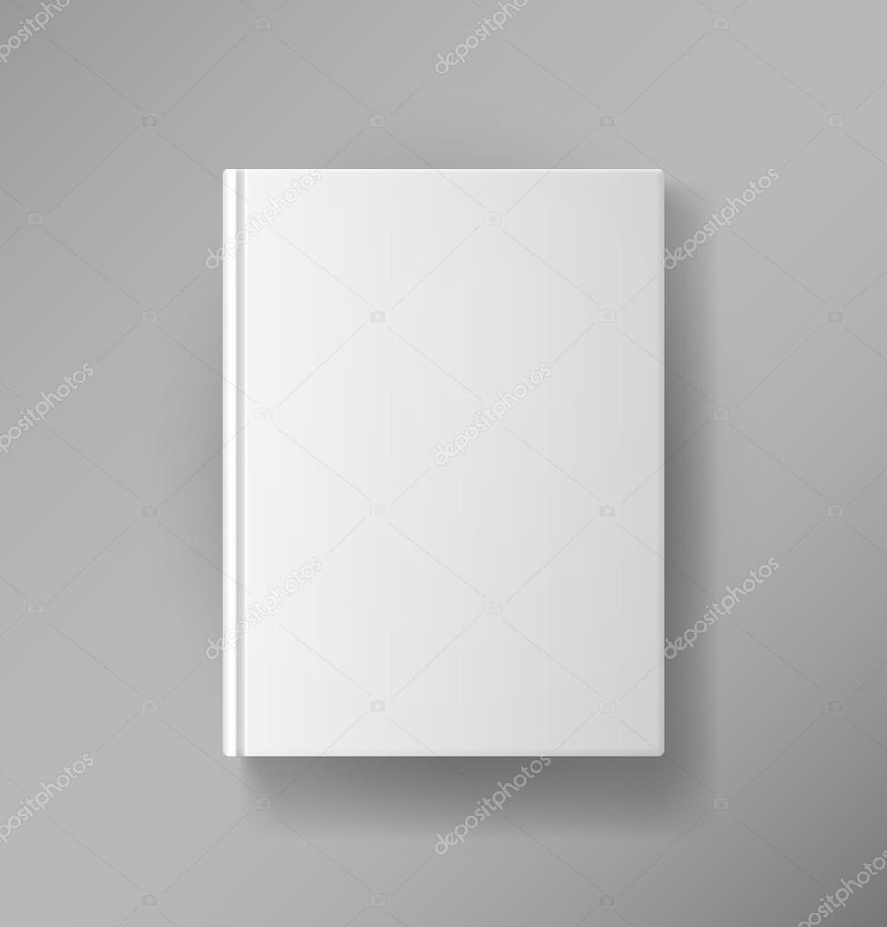 Book Cover Stock Images ~ Blank book cover — stock vector mssa
