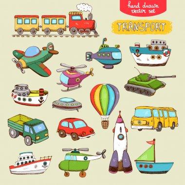 Vector transport toys
