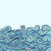 modré moře vlny pozadí