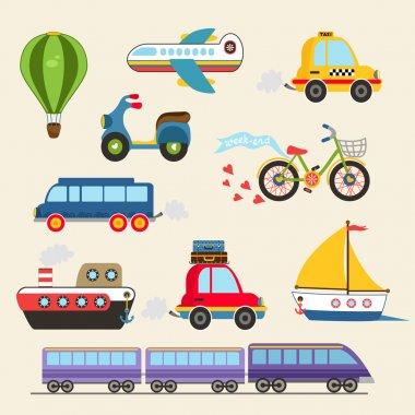 Vector transport set