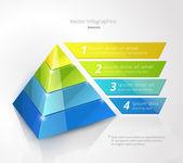 pyramida infographic