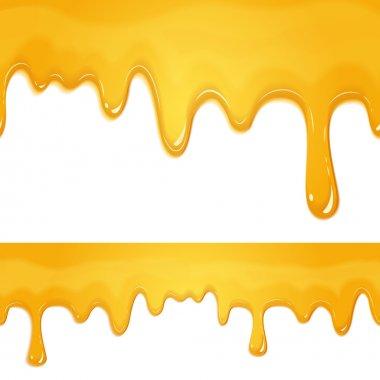 honey drips pattern