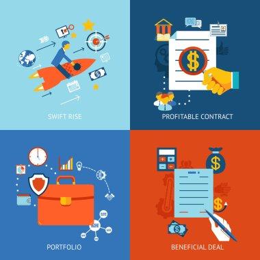 Business concepts set