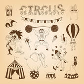 Fotografie cirkusové prvky návrhu
