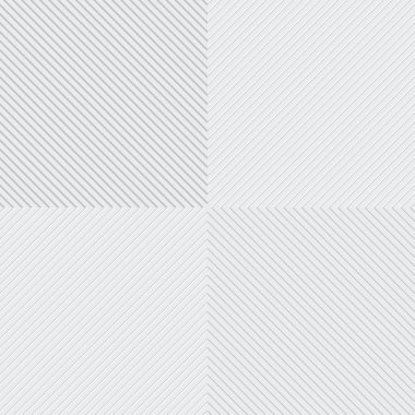 Vector gray and white lines patterns set stock vector